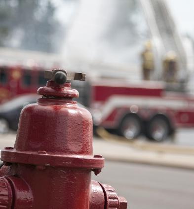 Was ist im Falle eines Brandschadens im Unternehmen zu tun?